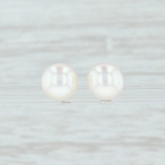 Pearl Stud Earrings, Cultured Pearl Stud Earrings,