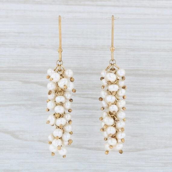 Freshwater Pearl Earrings, Cultured Pearl Earrings
