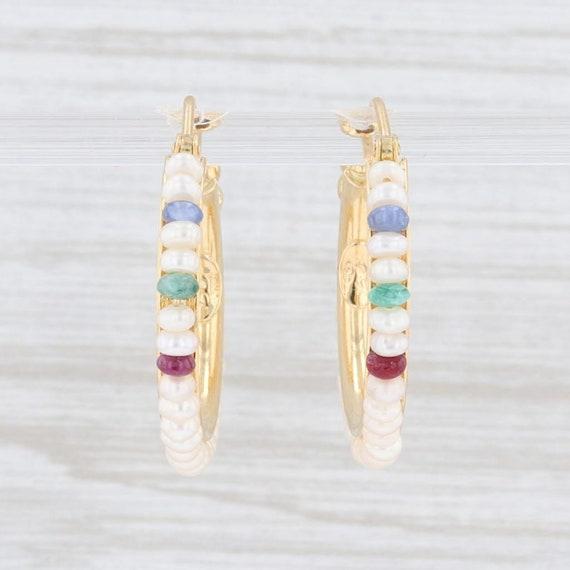 Le Gi Zoccai Earrings, Cultured Pearl Earrings, Ge