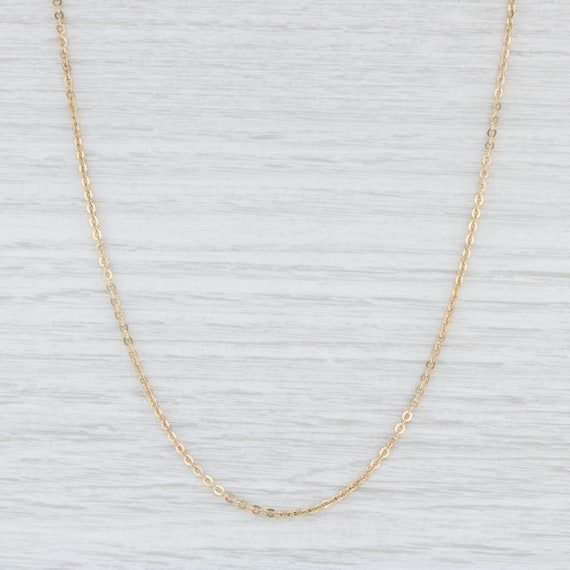 Balestra Necklace, Cable Chain Necklace, Yellow Go