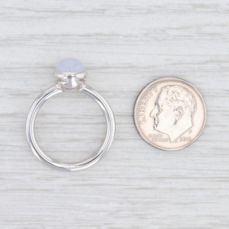 Bastian Inverun Pastel Chalcedony Ring Sterling Silver 12744 Light Blue