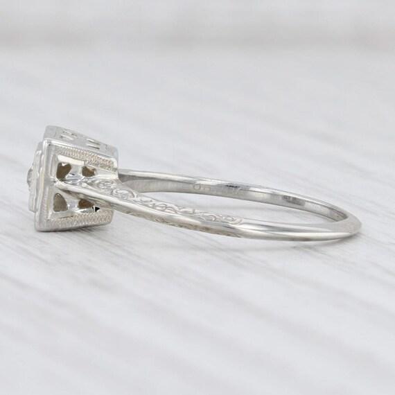 Vintage Diamond Ring, Ostby Barton Ring, Diamond … - image 3