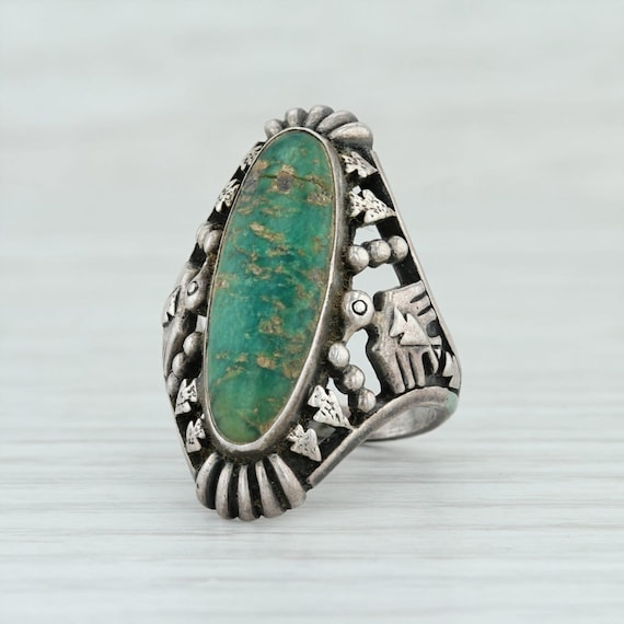 Native American Jewelry, Native American Ring, Pie