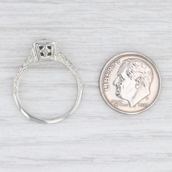 Vintage Diamond Ring, Ostby Barton Ring, Diamond … - image 6