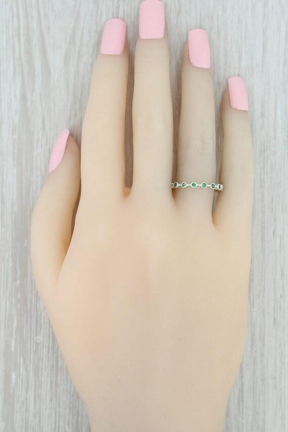 Tsavorite Garnet Ring, Green Garnet Ring, Garnet … - image 6