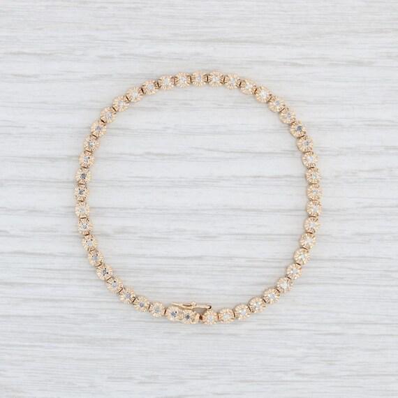 "Diamond Tennis Bracelet, 7"" Tennis Bracelet, 7"" Go"