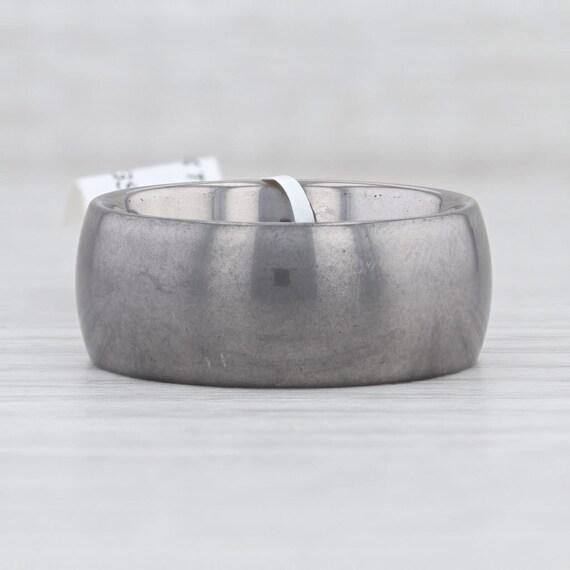Tungsten Ring, Size 11.5 Ring, Tungsten Wedding Ba