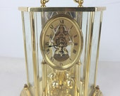 Seth Thomas Mechanical Battery Operated Anniversary Clock Westminster Chime
