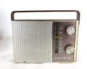 Zenith Royal 38 AM Transistor Radio