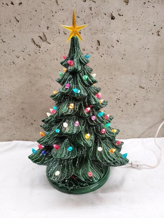 image 0 - Ceramic Light Up Christmas Tree