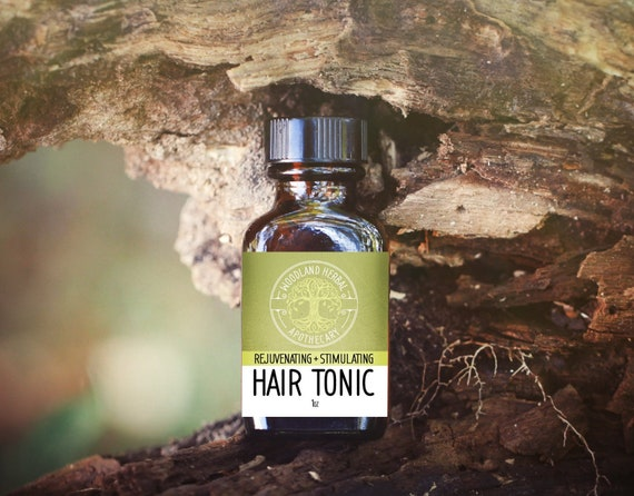 Hair Tonic: Rejuvenating/Stimulating - All Natural Oil for Promoting  Growth, Repairing Damaged Hair, Supporting Healthy Hair and Scalp