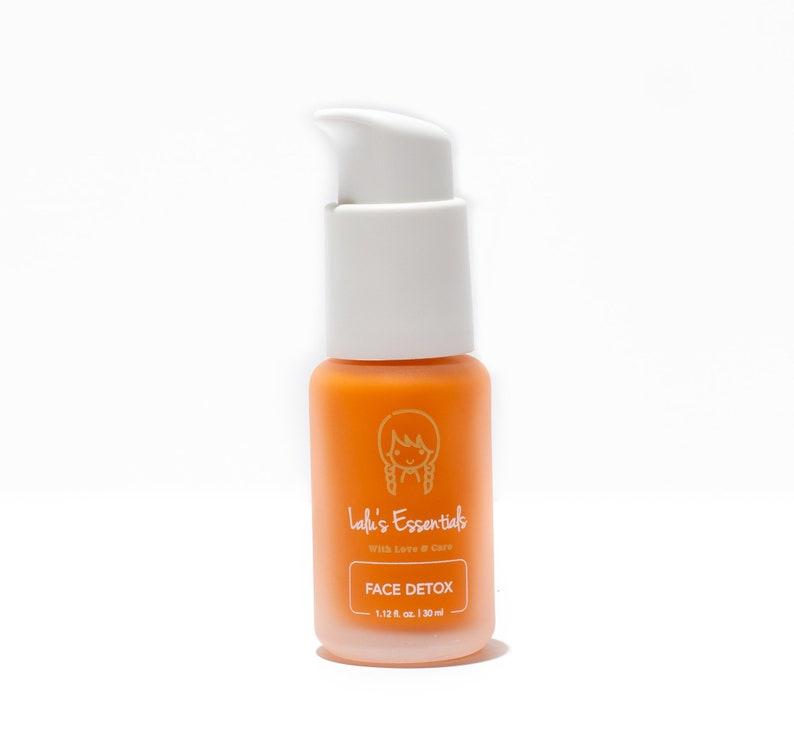 Face Detox serum complex Lalus Essentials free radicals antioxidant Skin of  all ages, conditions and ethnicities Post Procedure ,Sunburn