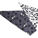 Nightmare Before Christmas Reversible Dog Bandana