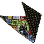 Deathly Hallows Reversible Dog Bandana