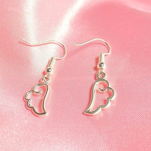 Valentine PINK Cherub Chainmaille Earrings
