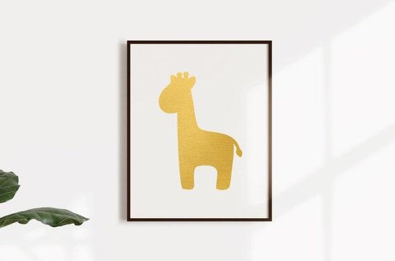 Gold Giraffe Png Gold Giraffe Svg Gold Foil Giraffe African Etsy