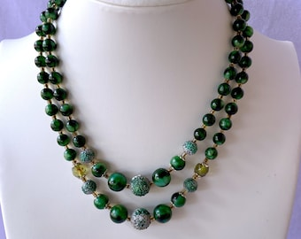 Japan Necklace, 1950s Necklace, Sustainable Fashion, August Birthday Gift