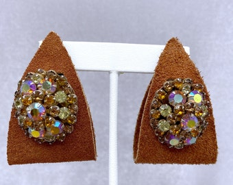 Upcycled Earrings, Statement Earrings, Christmas, Gift for Niece