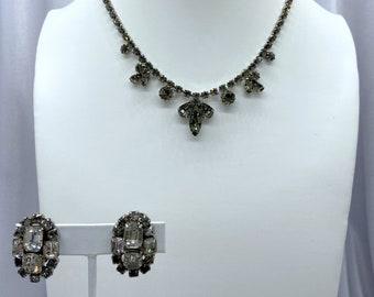 Rhinestone Jewelry, Wedding Jewelry, Vintage Jewelry, Bride Gift
