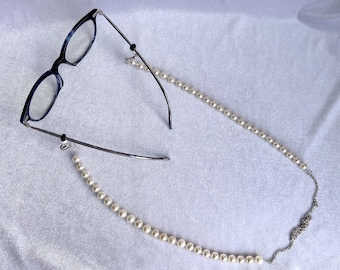 Glasses Chain, Upcycled, Mask Chain, Gift for Her