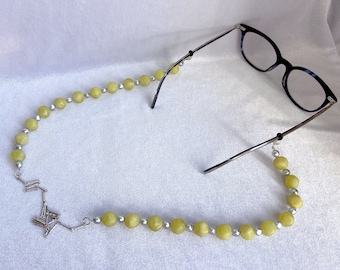 Glasses Lanyard, Upcycled, Glasses Chain, Best Friend Gift