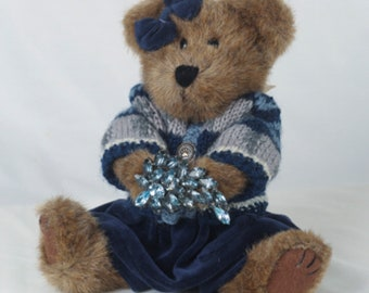 Teddy Bear, 1940s Brooch,