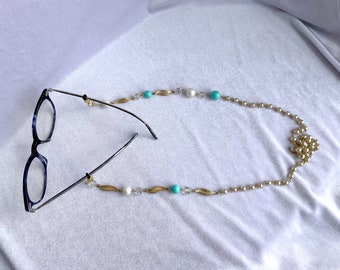 Sunglasses Chain, Upcycled, Mask Necklace, Best Friend Gift