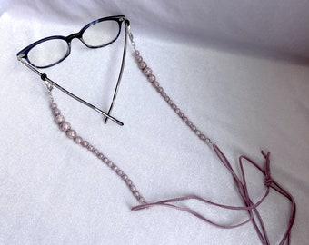 Glasses Chain, Upcycled, Mask Lanyard, Valentines Gift