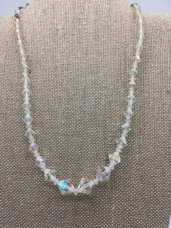Crystal vintage necklace