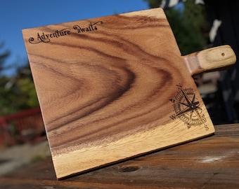 Adventure Awaits - Cheese / Charcuterie Board