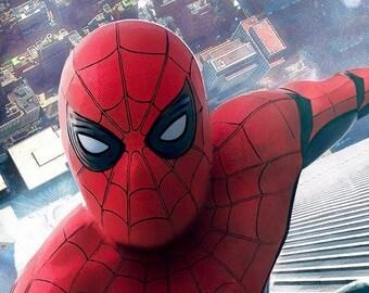 Spiderman mask | Etsy