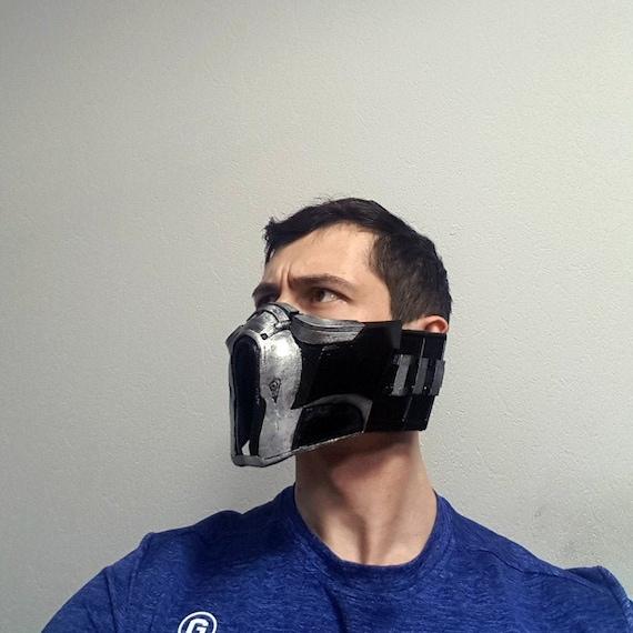 Sub Zero Mask Mortal Kombat Cosplay Scorpion Mask Etsy