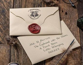 Personalized Acceptance Letter School of Witchcraft and Wizardry Personalised Envelope letters Gift