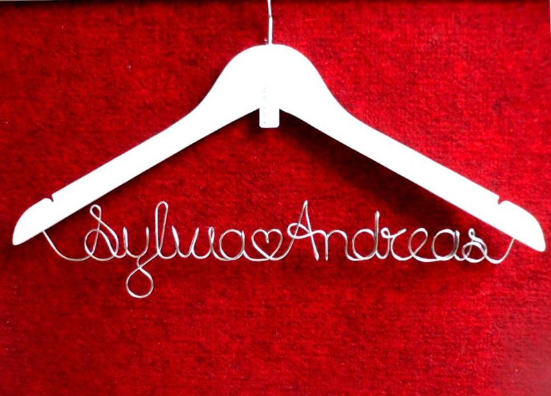Name Bride Hanger Personalized Personalized Christmas Name Braut Kleiderb\u00fcgel personalisiert