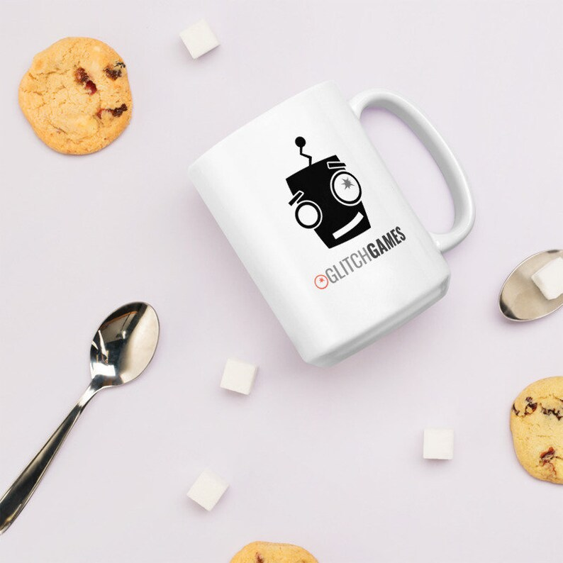 White Glossy Mug 15oz image 0