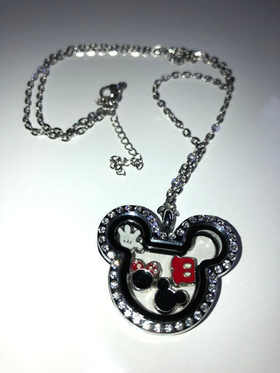 Mickey Mouse Love May Floating Charm
