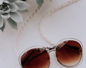 Macrame Glasses Chain | Macrame Modern Boho Glasses Chain Strap Carrier Holder Lanyard