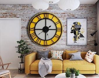 Extra Large Wall Clock Etsy