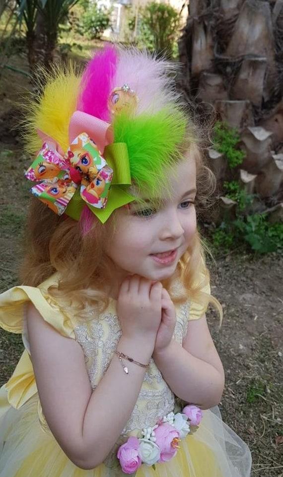 Children Kids Girls Headwear Emoji Emoticon Hair Bows Hairbands Hair Accessories