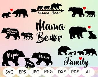 Bear Svg Etsy