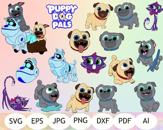 Puppy Dog Pals Svg Puppy Dog Pals Cut Files Puppy Dog Pals Etsy