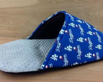 7eefa36d3d8a Shoe Pad- La Dodgers  Grey Minky Dot