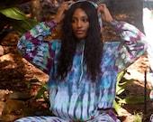 Stripe heady hoodie, tie dye hoodie, purple sweatshirt, hippie hoodie, hipster sweatshirt, stripe tie dye hoodie, purple dyed hoodie, purple