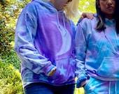 Moon tie dye hoodie, hippie tie dye hoodie, tie dye sweatshirt, hippie sweatshirt, boho tie dye sweats, fall tie dye sweats, hipster hoodie,