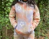 Flower child sweatsuit,hippie tie dye sweatshirt, tie dye hoodie, hippie tie dye hoodie, flower child hoodie, hipster hoodie, hippie flower