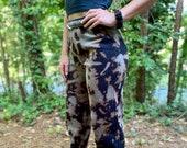 Unisex bleach dye sweatpants, bleached pants, bleached sweatpants, bleach dye joggers, bleached joggers, unisex bleach dye joggers, heady