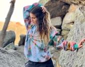 Tie dye pullover, swirl pullover, hippie spiral pullover, heady pullover, heady sweatshirt, tie dye sweatshirt, hipster sweatshirt, tie dye