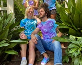 Assorted tie dye t-shirts, Red, Green, and Blue Tie Dye Shirt, galaxy tie dye top, hippie tie dye shirt, dope tie dye shirt, artsy boho tie