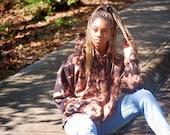 Star bleach hoodie, bleach dye hoodie, bleached sweatshirt, star sweatshirt, hippie hoodie, bleach dye sweatshirt, tie dye hoodie, tie dye