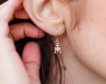Marian Cross Earrings